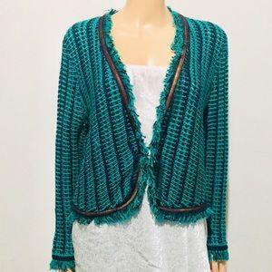 Caché NWT Crocheted Blazer/Cardigan (XL)